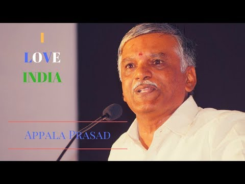 I Love India by Appala Prasad at IMPACT'17 Hyderabad