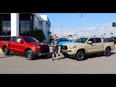 Which is the BETTER truck? 2019 Ford Ranger or Toyota Tacoma