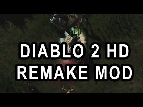 DIABLO 2 HD REMAKE MOD BY FAN (INSIDE STARCRAFT 2)