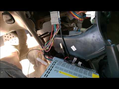 2003 oldsmobile (olds) Alero after market radio install  (similar to Grand am, Chevy Malibu)