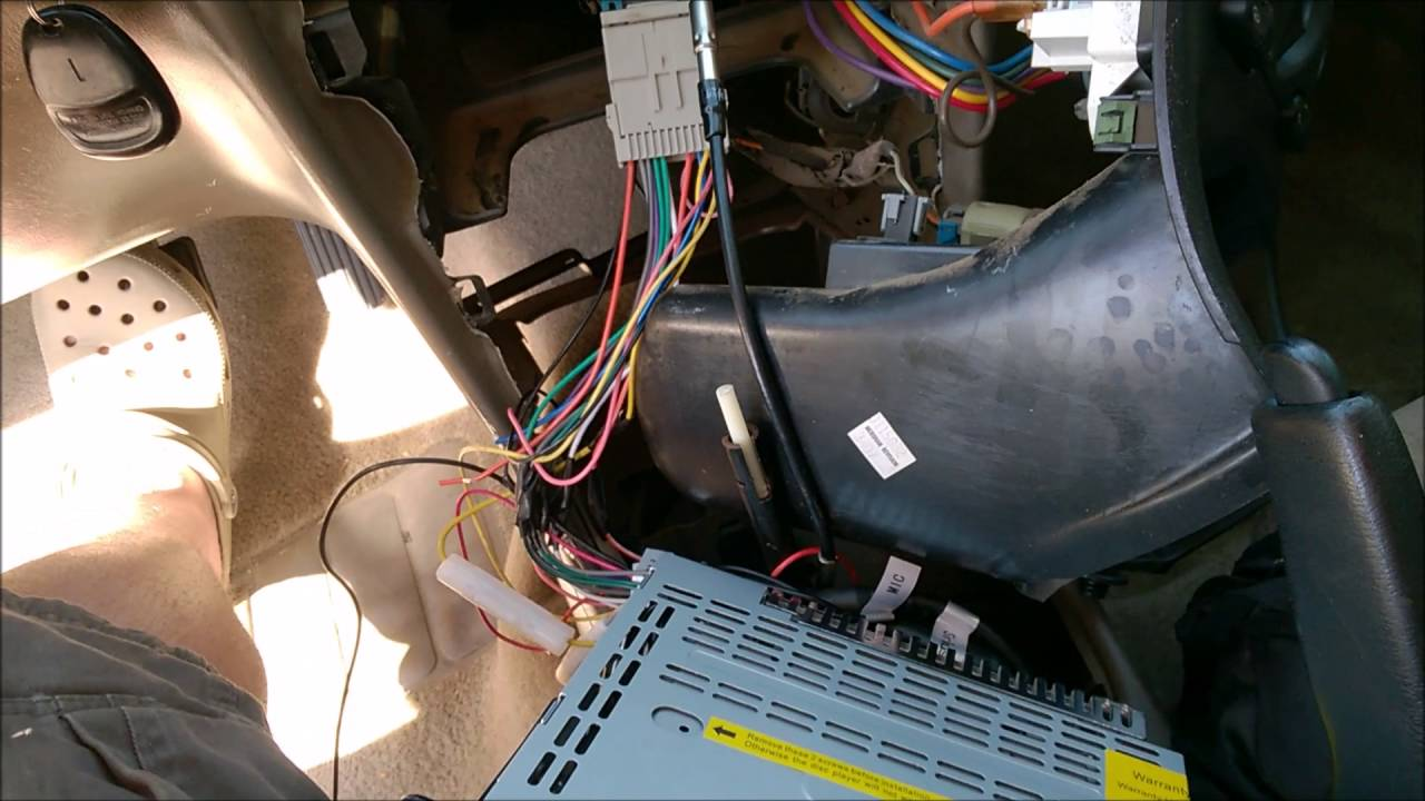 2003 oldsmobile (olds) Alero after market radio install (similar to Grand am, Chevy Malibu