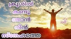 Krooshil Kandu Njan Nin Snehathe - I KESTER I Malayalam Christian Song