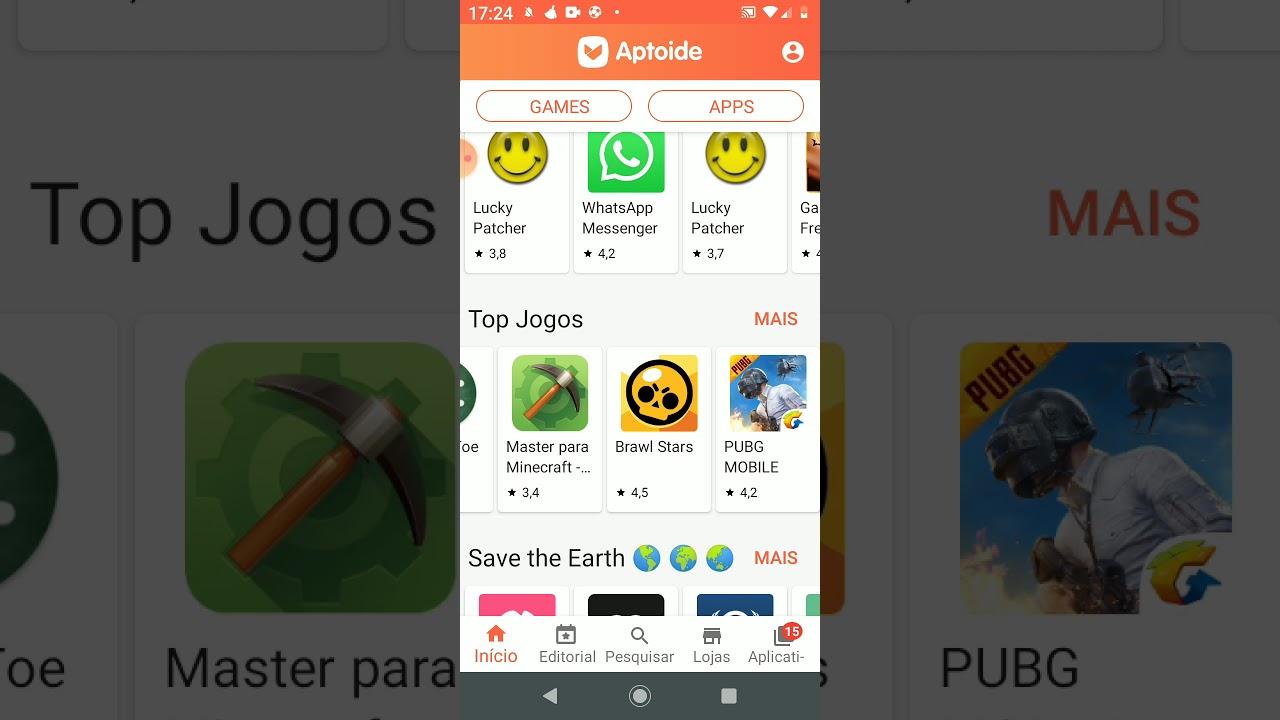 Como instalar Minecraft pelo Aptoide  #Smartphone #Android