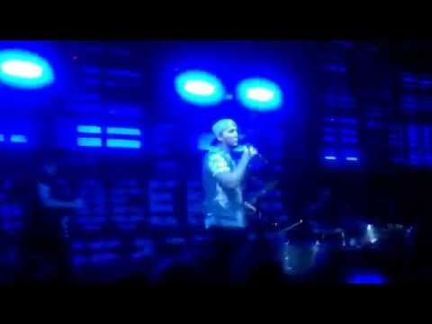 James Arthur-Get Down live in Tallinn @Factory