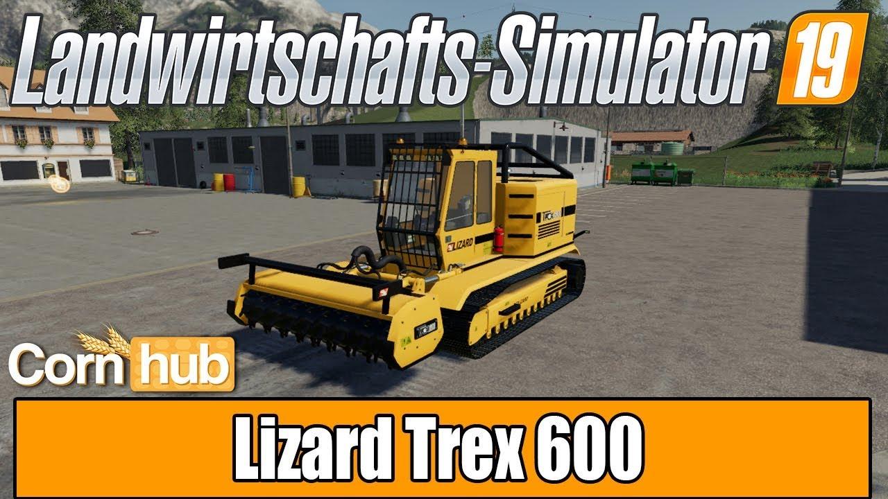 LS19 Modvorstellung - Lizard Trex 600 - LS19 Mods
