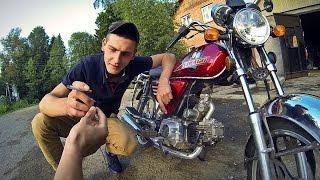 обзор мотоцикла Irbis virago(альфа)