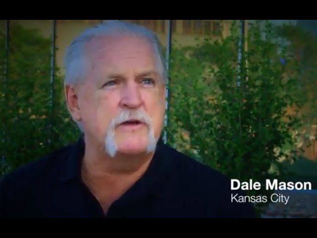 """I canceled my shoulder surgery and never looked back."" - Dale Mason, Kansas City, MO"