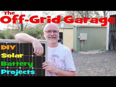 Welcome to the Off-Grid Garage! 🌞🔋