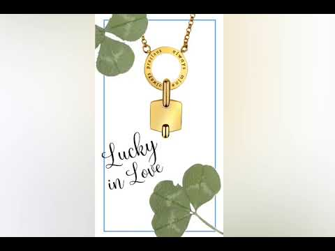 Lucky in Love - Embrace Necklace