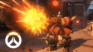 Roadhog Ability Overview | Overwatch