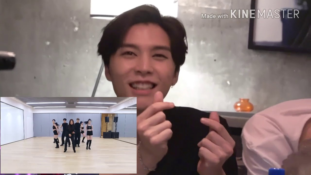 NCT Reaction to SNSD YURI (Into You) Dance practice FMV