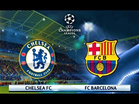 Chelsea vs Barcelona | Coutinho Free Kick Goal | UEFA Champions League 2018 | PES 2018 Gameplay HD