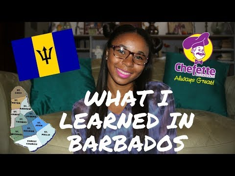 What I learned in BARBADOS