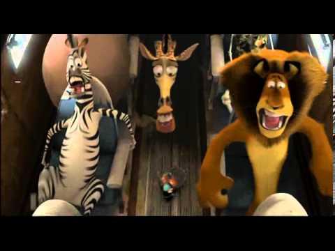 Madagascar 2: Airplane crash