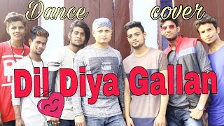 Dil Diyan Gallan Tiger Zinda Hai  Lyrical dance cover- choreography