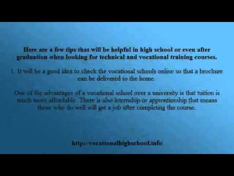 Vocational School - Vocational High School Technical