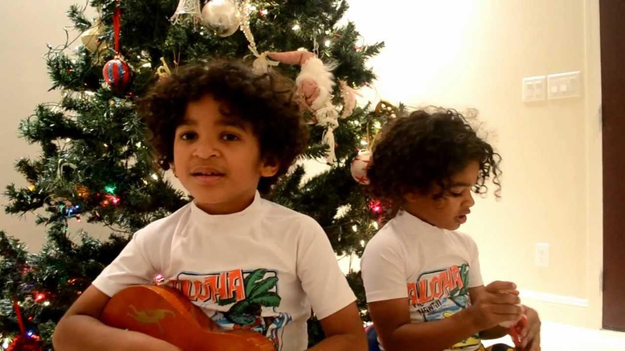 Hawaiian 12 Days of Christmas--Hawaiian Boys in Honolulu wish Merry ...