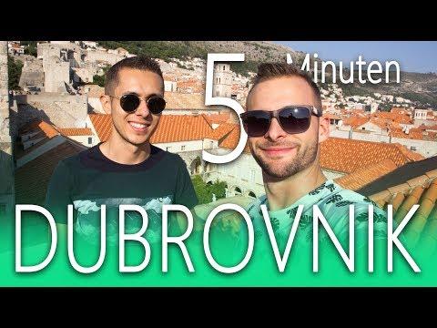 DUBROVNIK In 5 Minuten | DOKU KROATIEN 😎