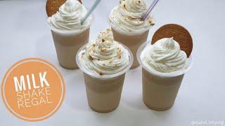 Minuman Kekinian MILKSHAKE REGAL 🍦|🍨 Cara Membuat Es Regal yg Viral