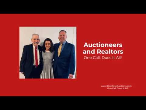 WELCOME TO DON ROSE AUCTION & REALTY!