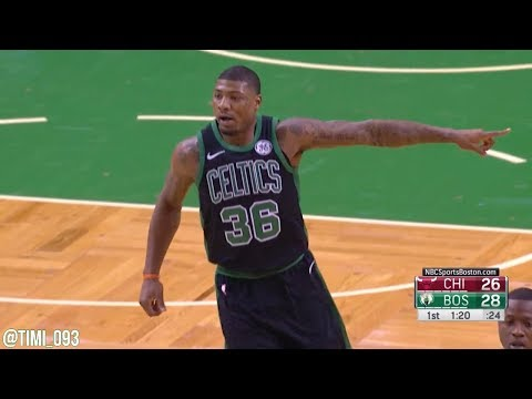 Marcus Smart Highlights vs Chicago Bulls (11 pts, 3 ast, 2 blk)