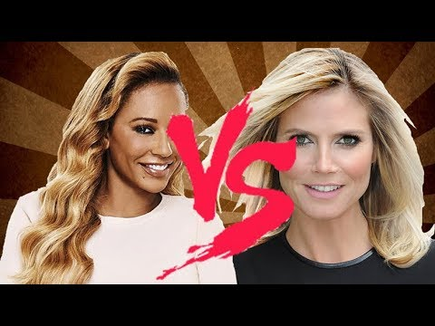 Who's Richer Heidi klum  Or Mel B ?? Heidi  & Melanie Brown Net Worth