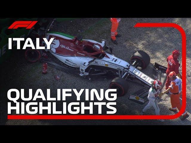 2019 Italian Grand Prix: Qualifying Highlights