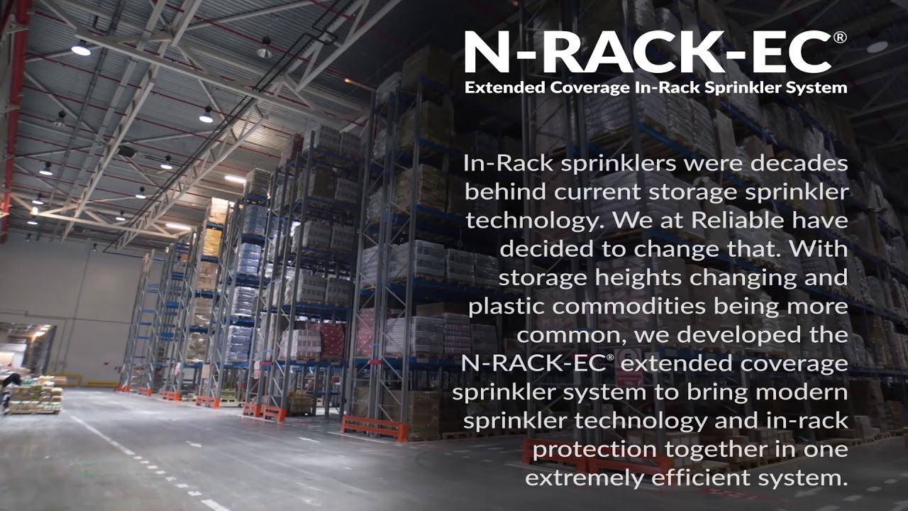 IN-RACK FIRE SPRINKLER SOLUTIONS | Reliable Automatic