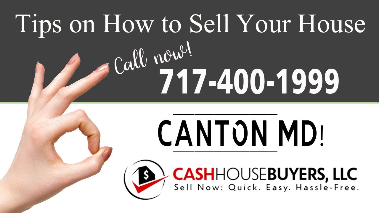 Tips Sell House Fast Canton   Call 7174001999   We Buy Houses Canton