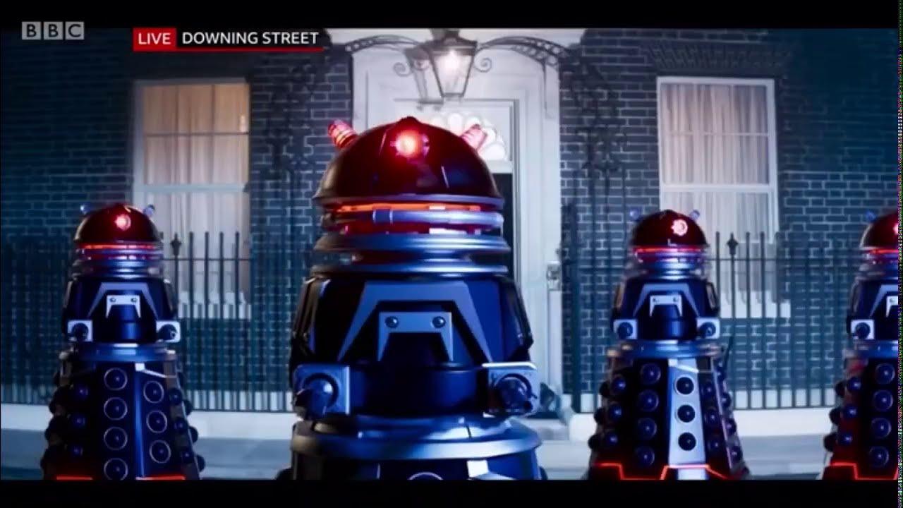 The Daleks Kill the Prime Minister & Take Control - Doctor Who Revolution  Of The Daleks Clip - YouTube