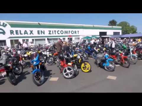 Moped show and parts in Wellen 2018 / Oldtimer brommer treffen & beurs Wellen Belgium 2018