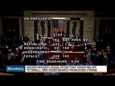 House Passes Dodd-Frank Rollback Bill