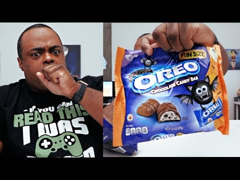 Oreo FUN SIZE Chocolate Candy Bars TASTE TEST!