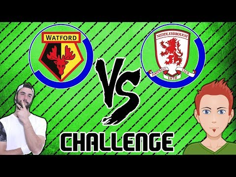 FIFA CHALLENGE VS CORNERFLAG GAMES (Middlesbrough vs Watford)