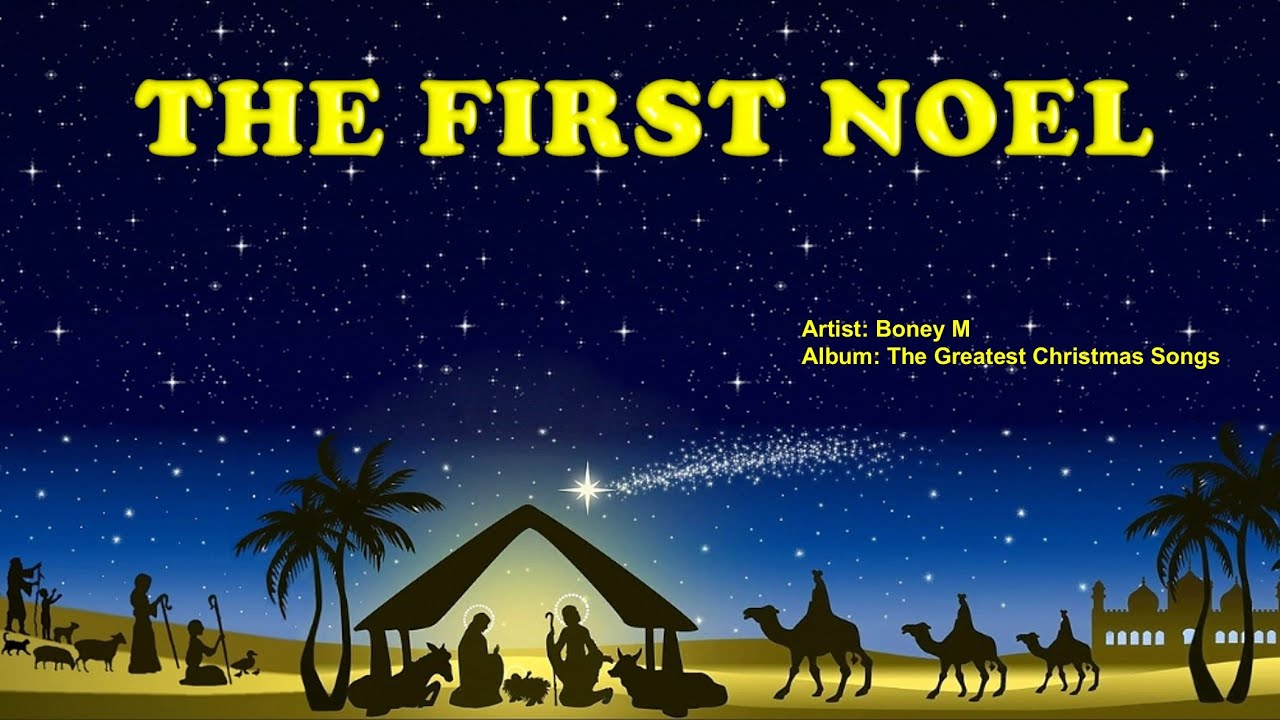 the first noel boney m with lyrics youtube - Christmas Songs Lyrics Youtube