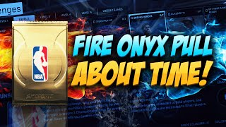 NBA 2K15 My Team Pack Opening - FIRE ONYX PULL! ABOUT TIME BRUH!