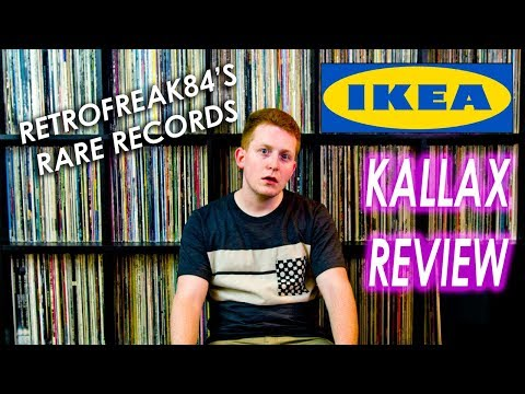 How to Store a Ton of Vinyl Records- IKEA Kallax Review