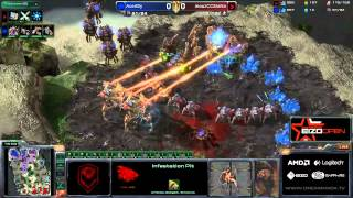 Dreamhack Winter 2012 - Grupa B - Mana(P) vs Bly(Z)