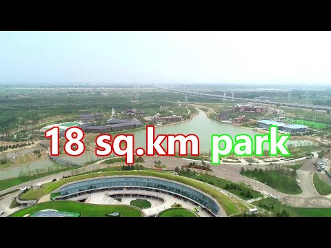 An 18-square-kilometer eco-park opened to public in China's Xiong'an New Area   雄安新區18平方公里生態公園正式對外開放