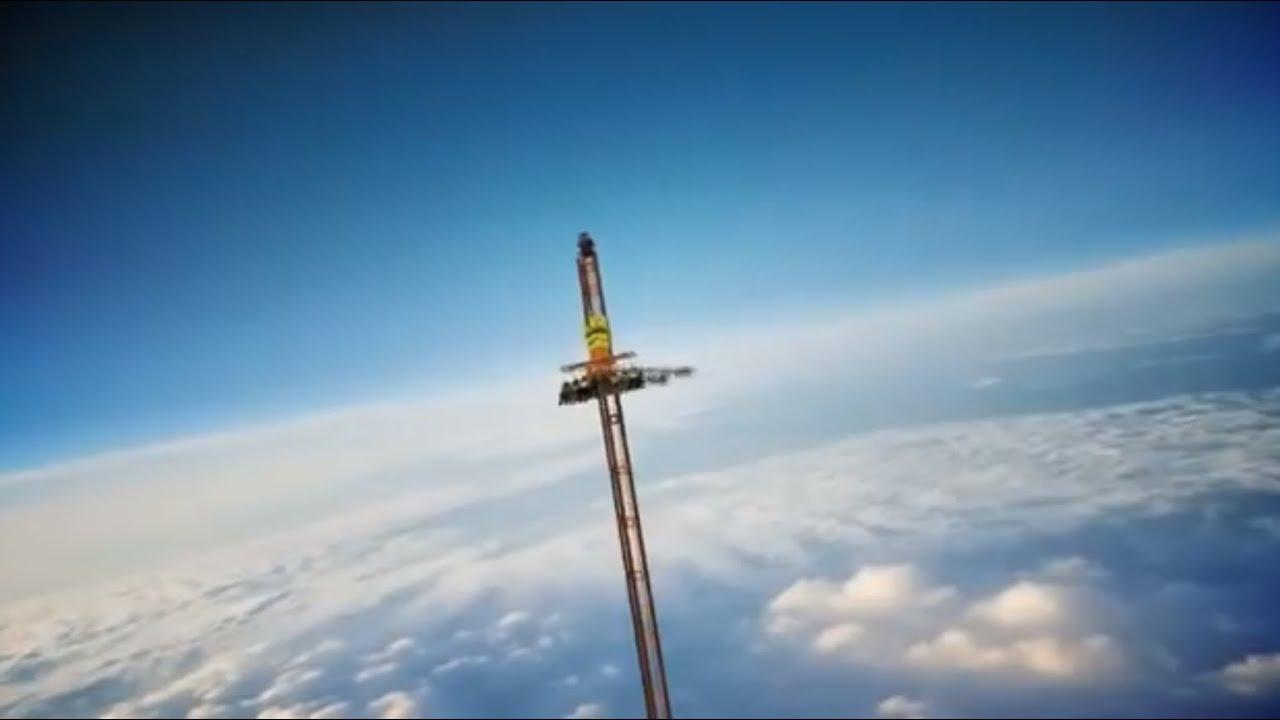 chute libre la plus haute du monde
