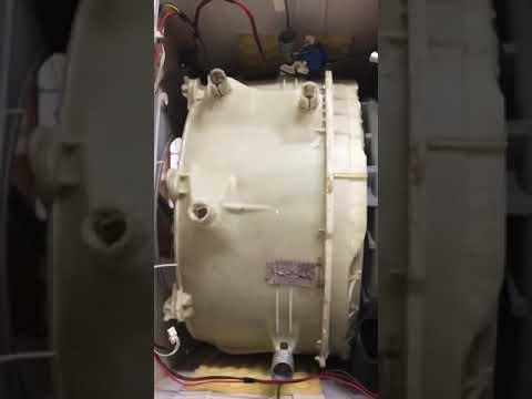 Снятие груза с барабана стиральной машини