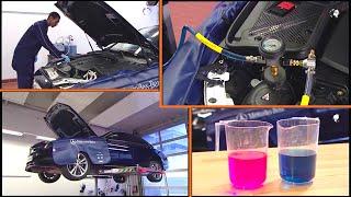 Vidanger, remplir le liquide de refroidissement | W205, W253