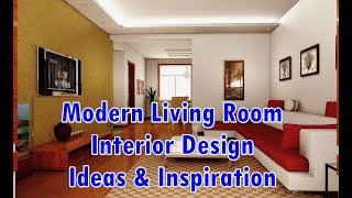 Modern Living Room Interior Design Ideas & Inspiration