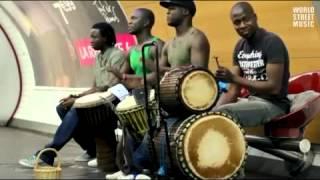아프리카 잼배 드럼공연