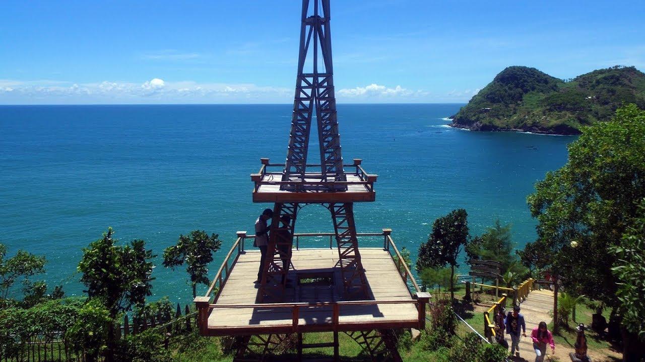 Pantai Watu Bale Kebumen - Cingire Mangan Mendoan [Drone View]
