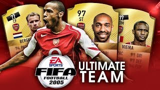 Gdyby FIFA 2005 miała ULTIMATE TEAM... - ARSENAL FC