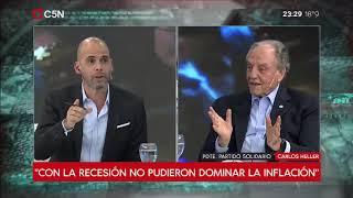 15-04-2019 - Carlos Heller en C5N - Recalculando, con Julián Guarino