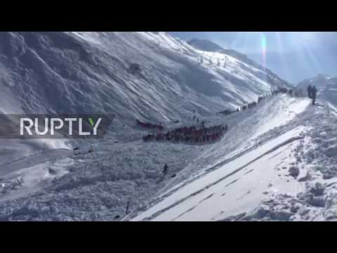 France: Rescue op underway after 4 killed in avalanche at Tignes ski resort