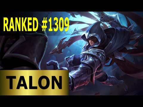 Talon Mid - Full League of Legends Gameplay [German] Let's Play LoL - Ranked #1309 thumbnail