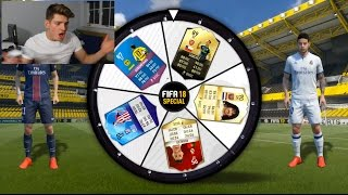 OMG SICK NEW GAME MODE SPIN THE WHEEL?! 😱 (Fifa 17 Ultimate Team)